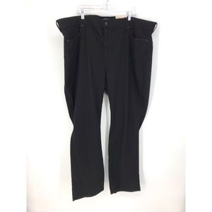 NYDJ Sz 26W Marilyn Straight Leg Jeans Black